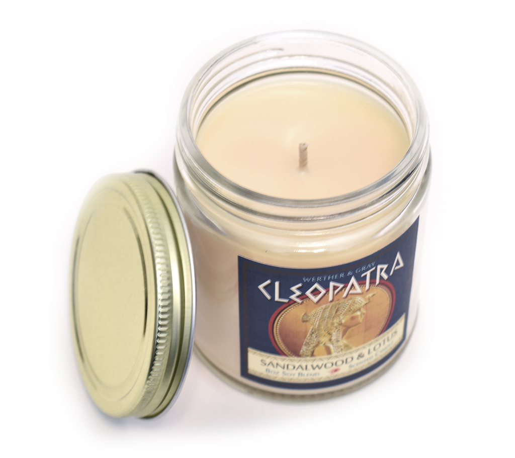 CLEOPATRA, Scented Candle, 8 oz Jar