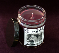 LONDON 1888, Scented Candle, 8oz Jar - Werther & Gray