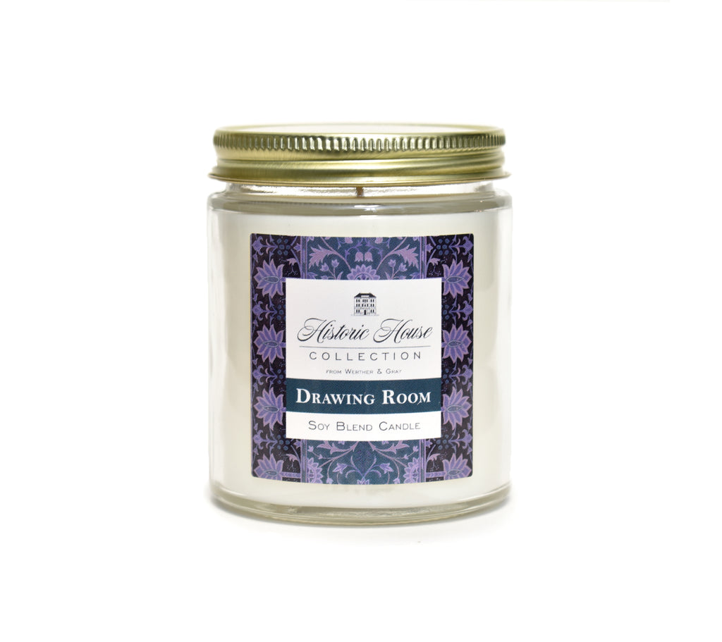 DRAWING ROOM, Scented Candle, 5oz Jar - Werther & Gray