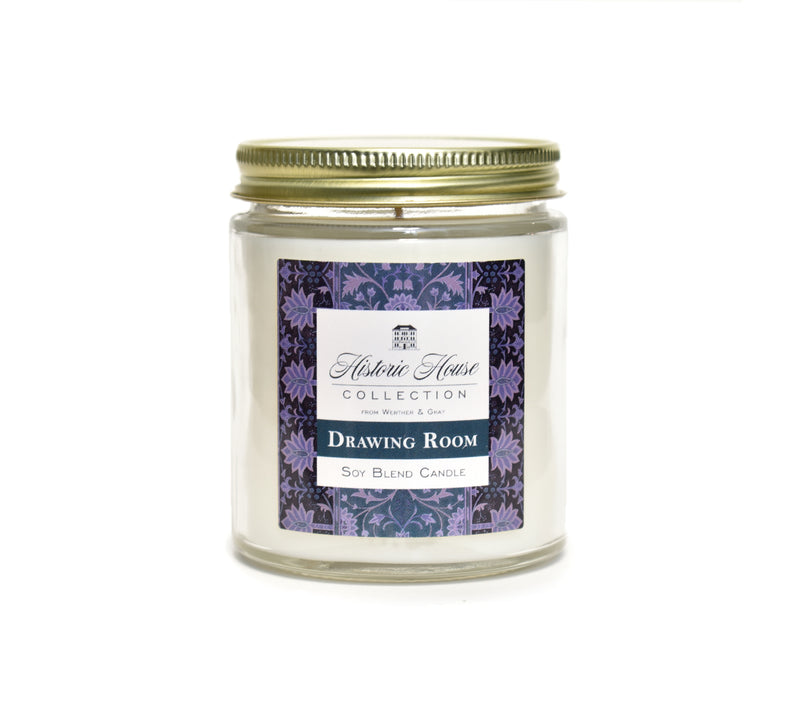 DRAWING ROOM, Scented Candle, 5oz Jar - Werther & Gray Artisan