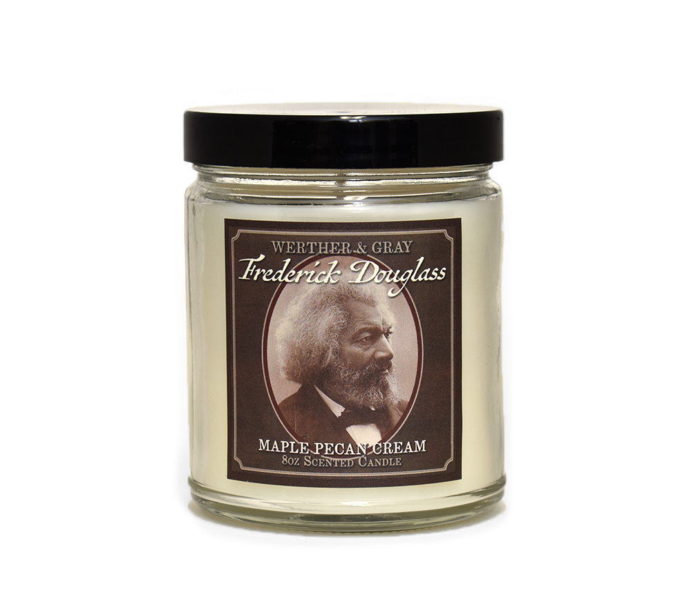 FREDERICK DOUGLASS, Scented Candle, 8oz Jar - Werther & Gray