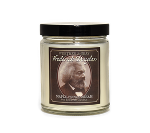FREDERICK DOUGLASS, Scented Candle, 8oz Jar - Werther & Gray Artisan
