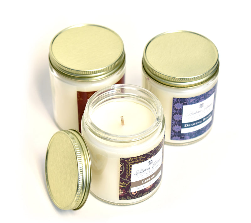 ENTRANCE HALL, Scented Candle, 5oz Jar - Werther & Gray Artisan