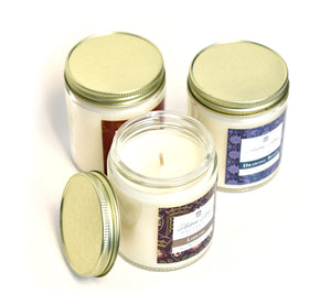 LIBRARY, Scented Candle, 5oz Jar - Werther & Gray Artisan
