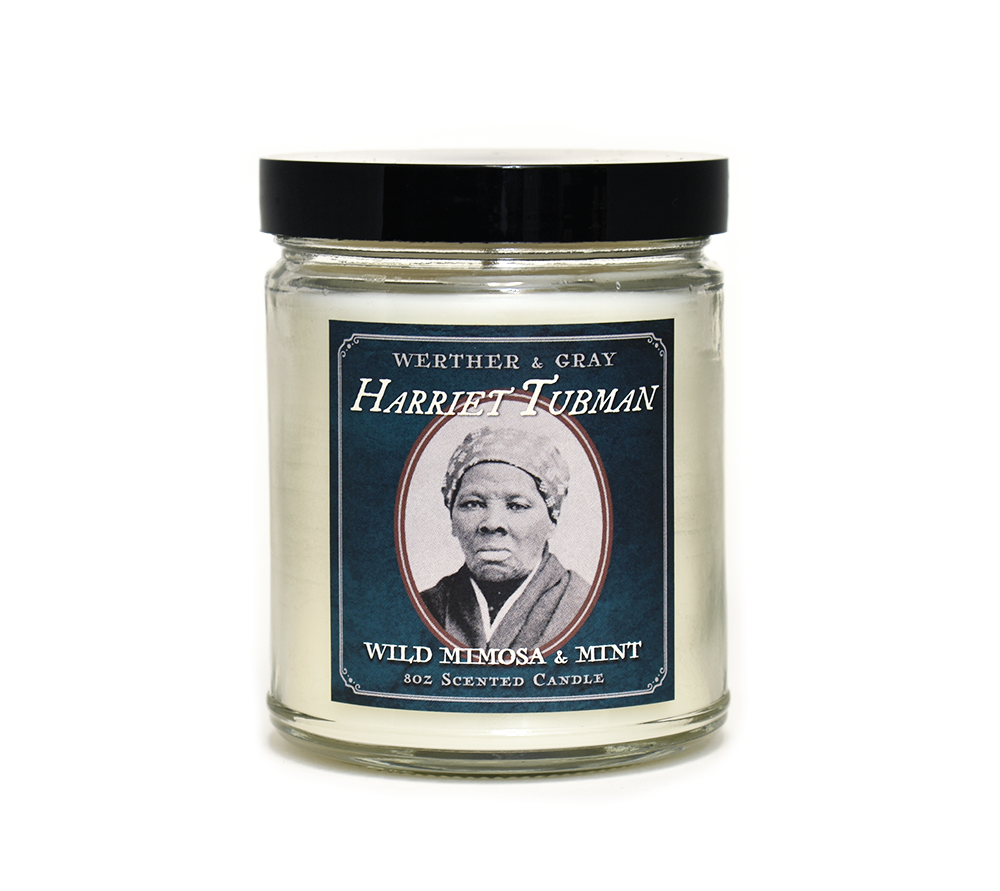 HARRIET TUBMAN, Scented Candle, 8oz Jar - Werther & Gray