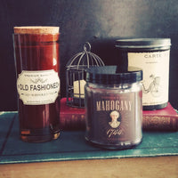 MAHOGANY 1744, Scented Candle, 8 oz Jar - Werther & Gray Artisan