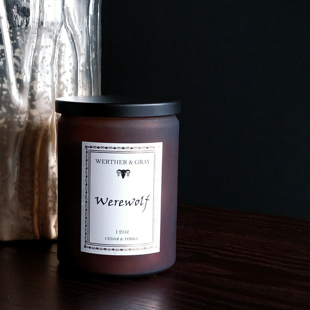 WEREWOLF, 12oz Scented Candle - Werther & Gray