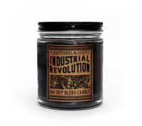 INDUSTRIAL REVOLUTION, Scented Candle, 8oz Jar - Werther & Gray Artisan