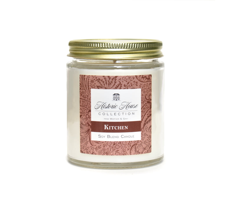 KITCHEN, Scented Candle, 5oz Jar - Werther & Gray Artisan