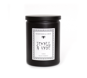 JEKYLL & HYDE, 12oz Scented Candle - Werther & Gray Artisan