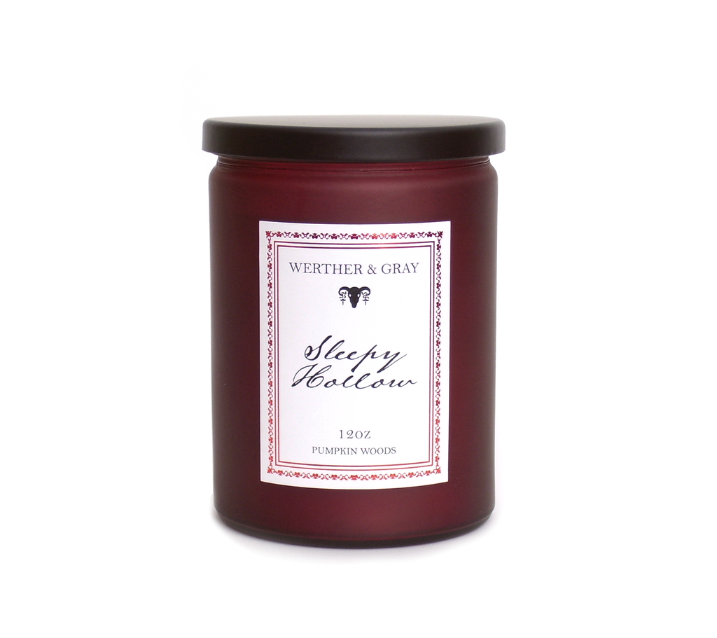 SLEEPY HOLLOW, 12oz Scented Candle - Werther & Gray Artisan