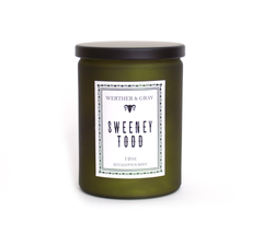 SWEENEY TODD, 12oz Scented Candle - Werther & Gray