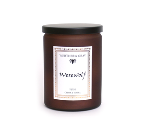 WEREWOLF, 12oz Scented Candle - Werther & Gray Artisan