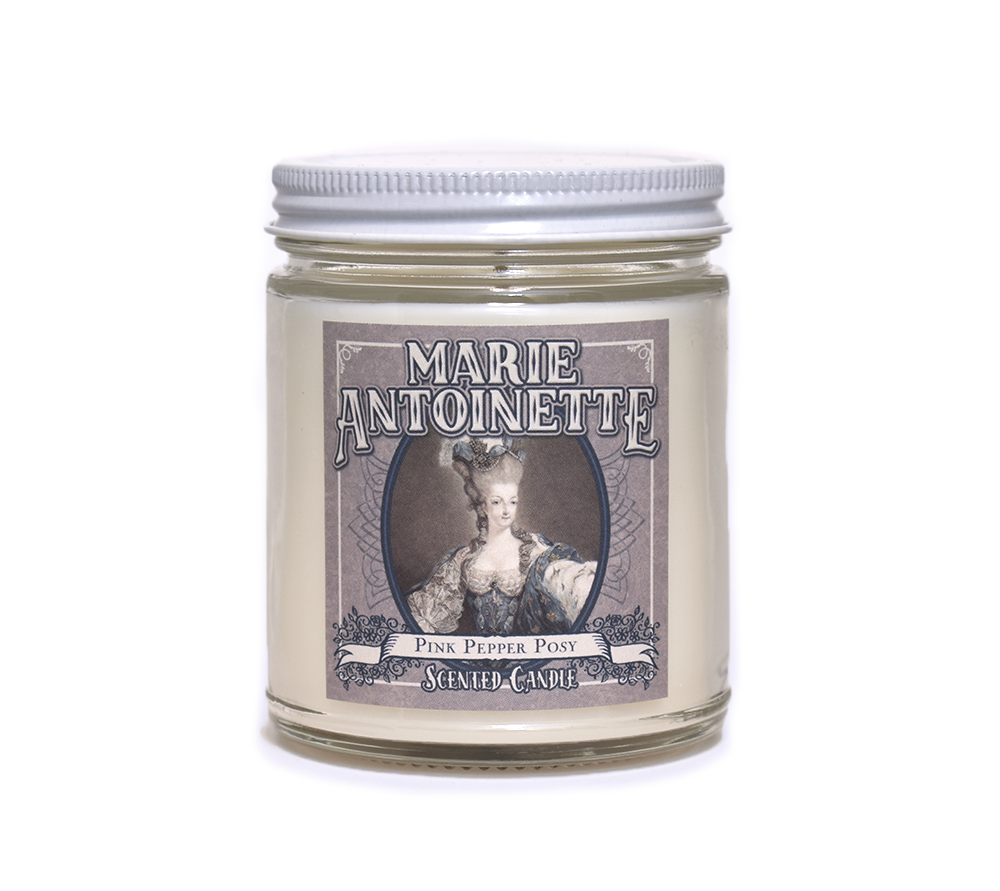 MARIE ANTOINETTE, Scented Candle, 8oz Jar - Werther & Gray