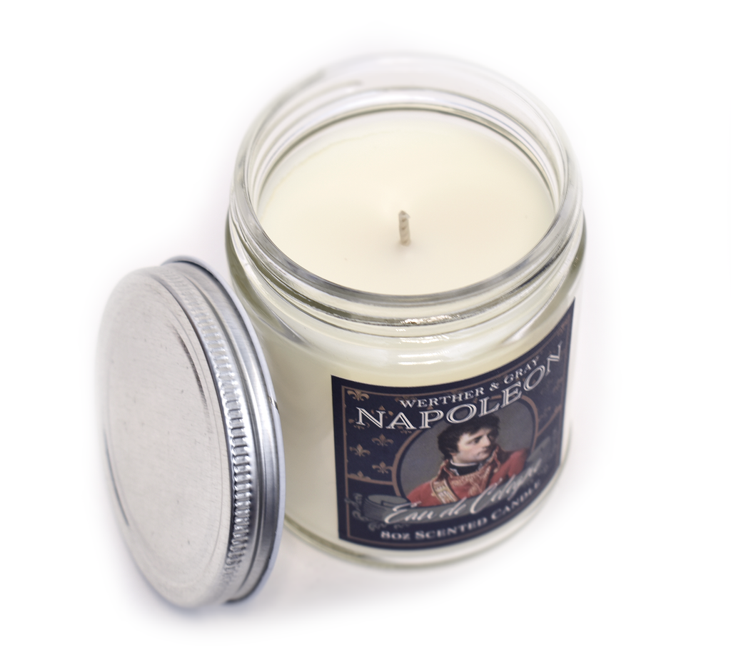 NAPOLEON, Scented Candle, 8oz Jar