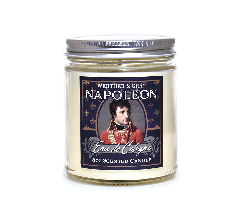 NAPOLEON, Scented Candle, 8oz Jar - Werther & Gray