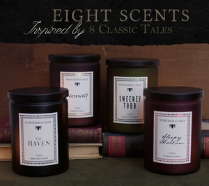 THE RAVEN, 12oz Scented Candle - Werther & Gray