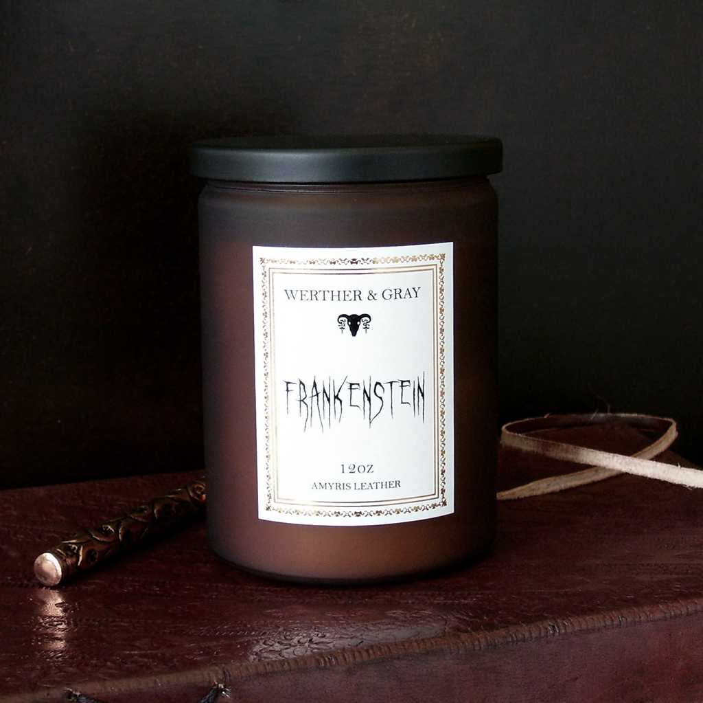 FRANKENSTEIN, 12oz Scented Candle - Werther & Gray
