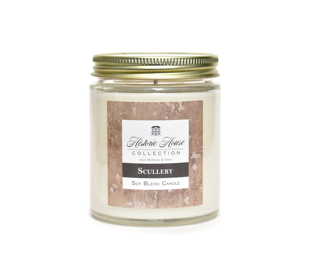 SCULLERY, Scented Candle, 5oz Jar - Werther & Gray Artisan