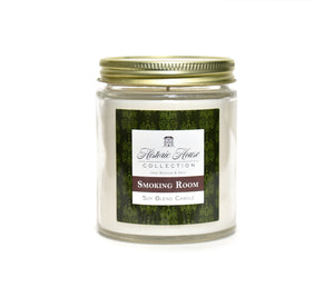 SMOKING ROOM, Scented Candle, 5oz Jar - Werther & Gray Artisan