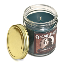OSCAR WILDE, Scented Candle, 8oz Jar - Werther & Gray Artisan