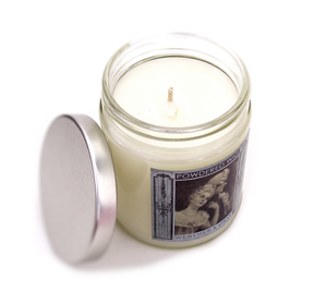 POWDERED WIG, Scented Candle, 8oz Jar - Werther & Gray
