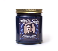 NIKOLA TESLA, Scented Candle, 8oz Jar - Werther & Gray