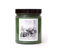 BOSTON TEA PARTY, Scented Candle, 8 oz Jar - Werther & Gray