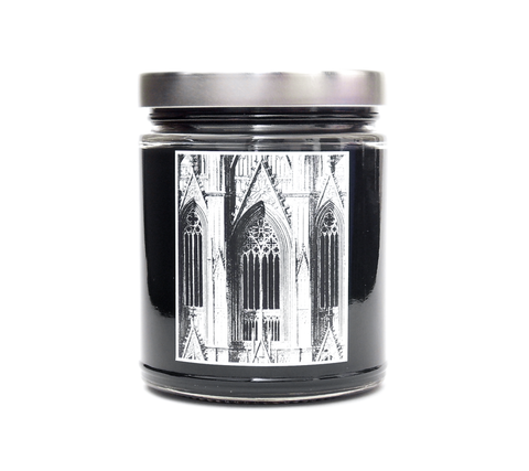 GOTHIC CATHEDRAL, Soy Blend Candle, 8oz Jar - Werther & Gray