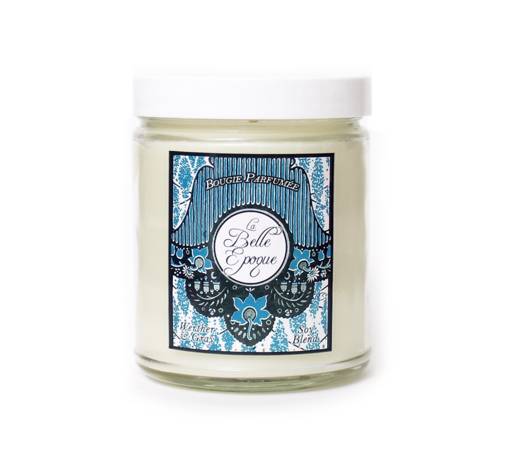 LA BELLE ÉPOQUE, Scented Candle, 8 oz Jar - Werther & Gray