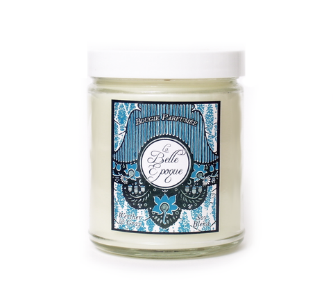 LA BELLE ÉPOQUE, Soy Blend Candle, 8 oz Jar - Werther & Gray