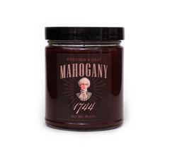 MAHOGANY 1744, Scented Candle, 8 oz Jar