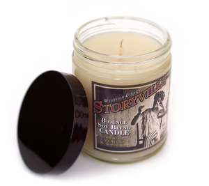 STORYVILLE, Scented Candle, 8oz Jar - Werther & Gray Artisan