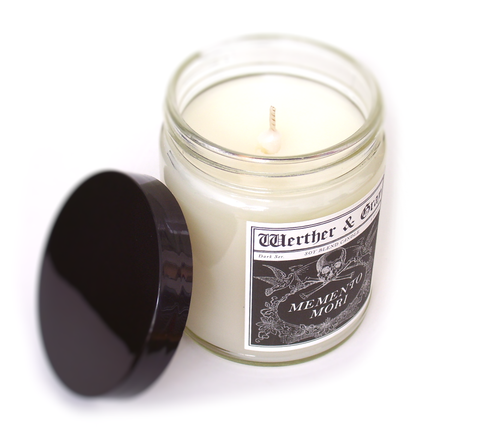MEMENTO MORI, Scented Candle, 8oz Jar - Werther & Gray