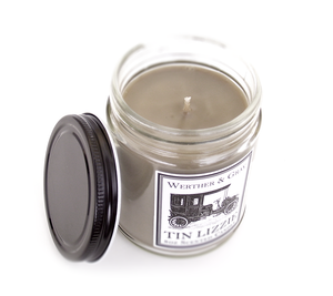 TIN LIZZIE, Scented Candle, 8 oz Jar - Werther & Gray