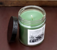 BOSTON TEA PARTY, Scented Candle, 8 oz Jar - Werther & Gray Artisan