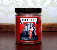JAZZ CLUB, Scented Candle, 8 oz Jar - Werther & Gray