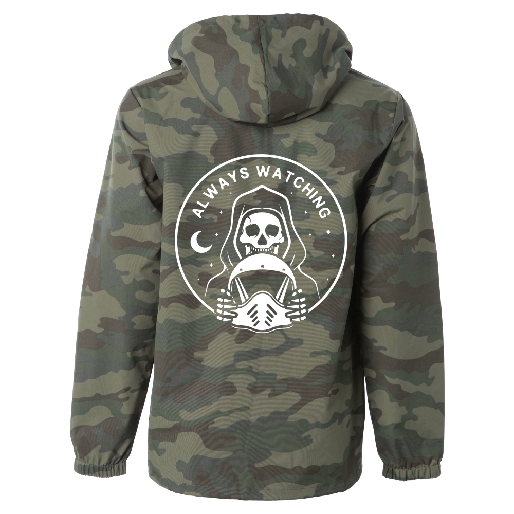 Always Watching Windbreaker - CAMO