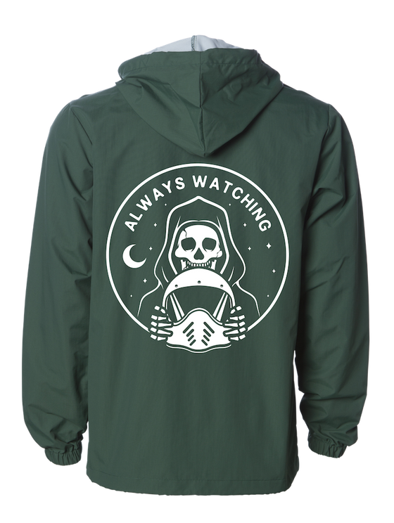 Always Watching Windbreaker - GREEN
