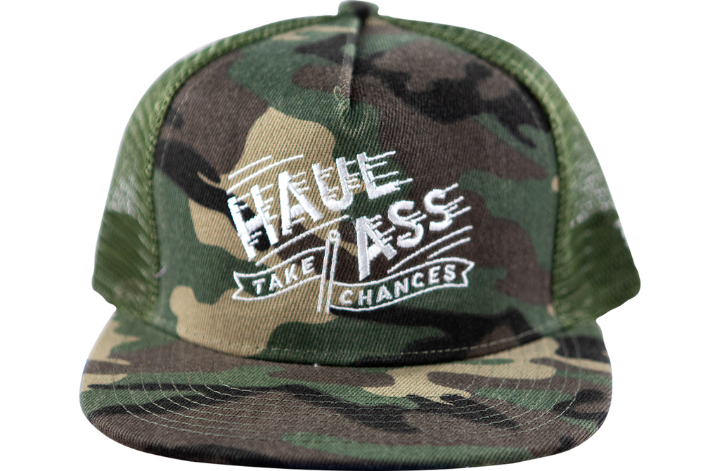 Haul Ass Trucker - Camo