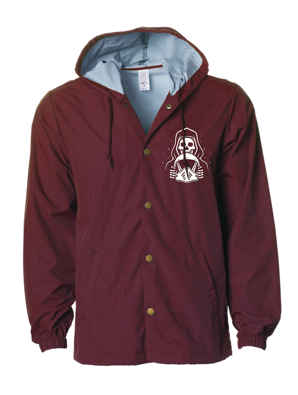 Always Watching Windbreaker - MAROON
