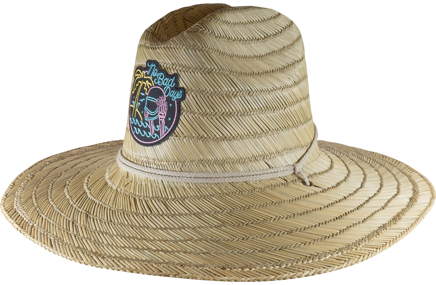 No Bad Days Straw Hat