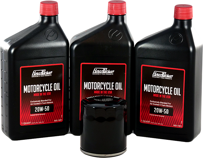 Harley Oil Change Pack - Non Synthetic