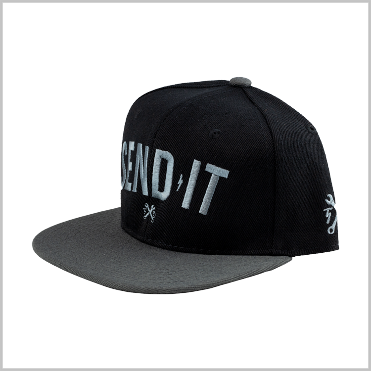 Send It Snapback - Grey