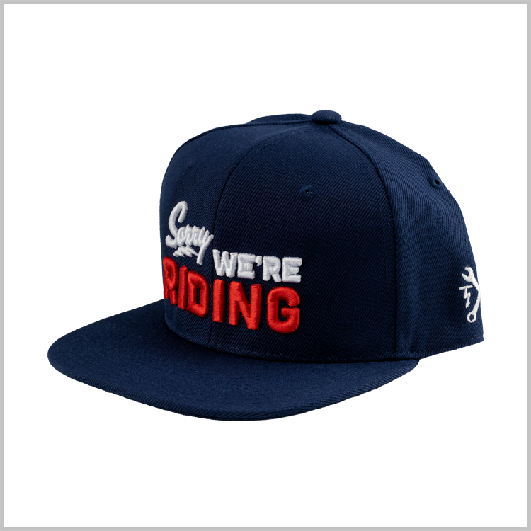 Sorry Not Sorry Snapback - Navy