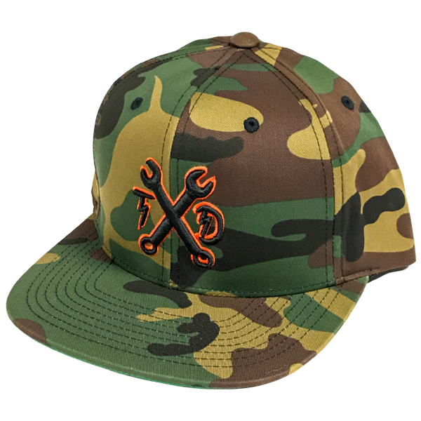 Wrenches Snapback - Camo
