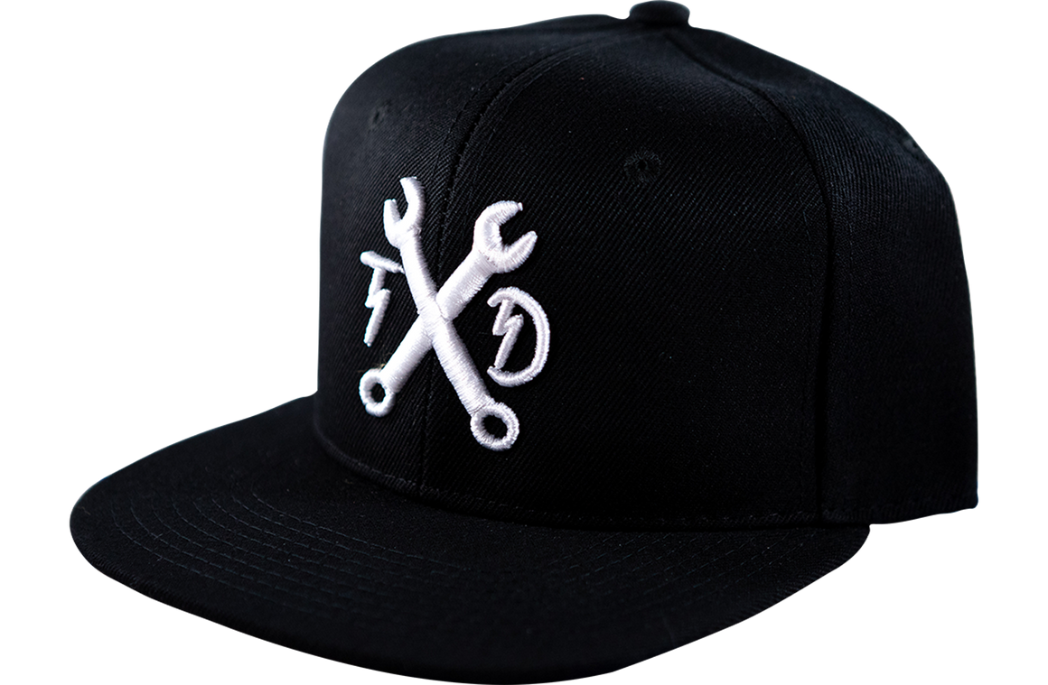 Wrenches Snapback - Black