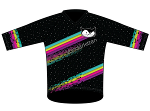 2019 Cosmic Kitten Trail Jersey | 3/4 Length Sleeves