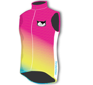 Revelation Wind Vest- Neon Shave Ice- XL CLOSEOUT