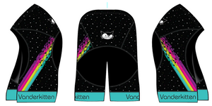 2019 Cosmic Kitten Cycling SHORT, XS